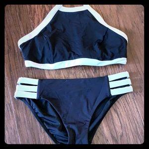 Seafolly Blk/white bikini suze 12